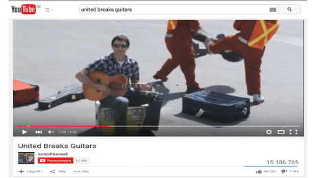Case: Sociala medier - United Breaks Guitars